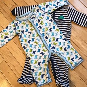 Other - Baby Button-Up Sleepers Size 9 Months